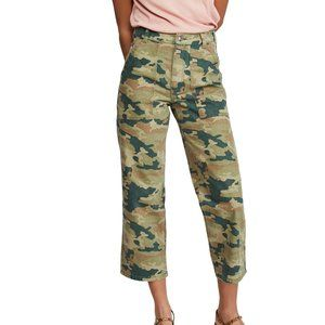 Free People Remy Camouflage Pants, Size 24